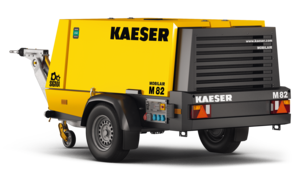 M 82 portable compressor from Kaeser Kompressoren